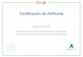 Certificacion Adwords – Publicidad
