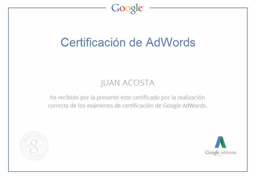 Publicidad online con Google Adwords