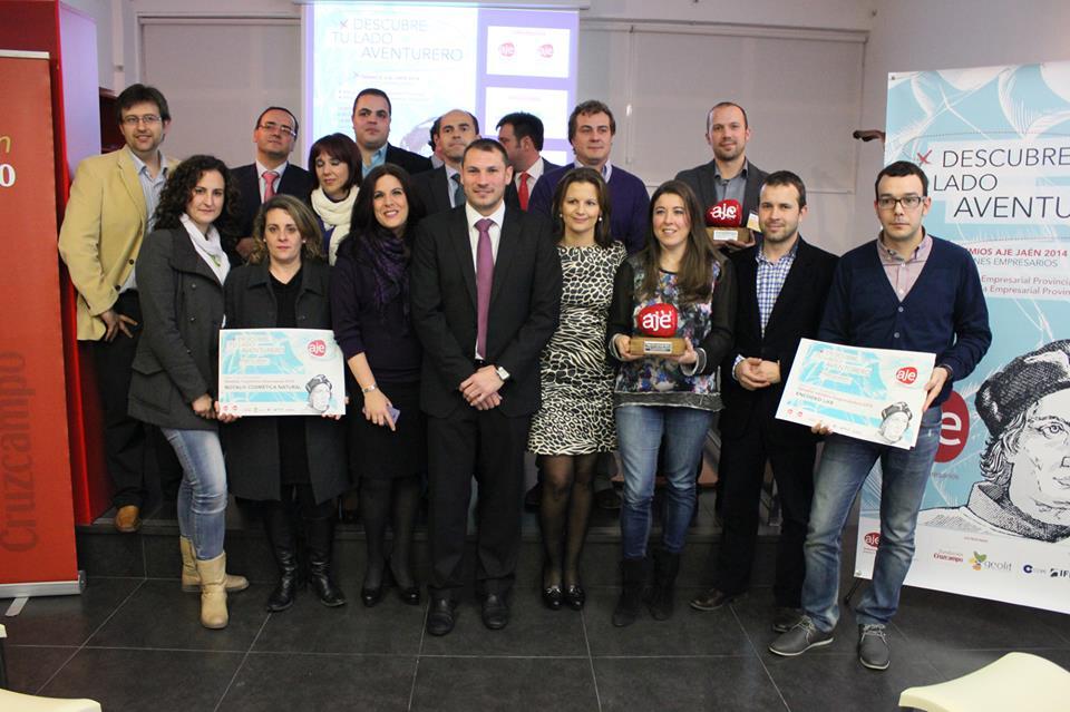 Entrega premios Aje Jaén