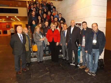 Primer encuentro de asesorados SECOT JAÉN.    Fotografía: Viva Jaén.