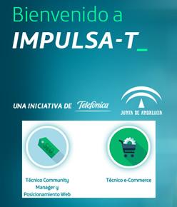 """Impartimos los cursos de """"Técnico en Community Manager y Posicionamiento web"""" y """"Técnico e-commerce"""" de Junta de Andalucía y Fundación Telefónica en Jaén"""