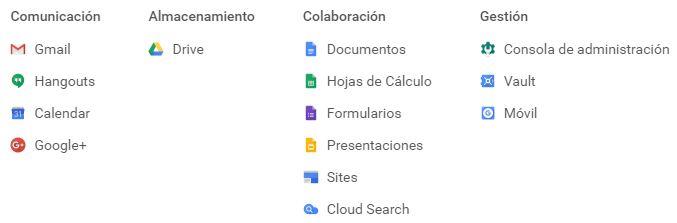 G Suite. Todos los servicios de Google a tu disposición: http://goo.gl/aiun8B