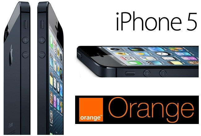 Iphone 5 con Orange