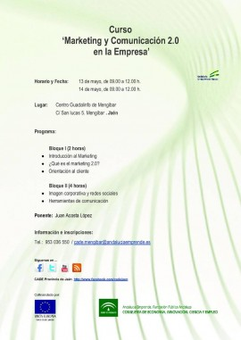 Curso: Marketing y comunicación 2.0 para empresarios