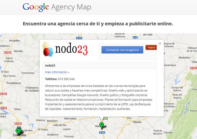 nodo23 es Agencia Google Adwords Certificada