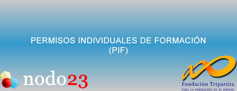 Permiso Individual de Formación - PIF